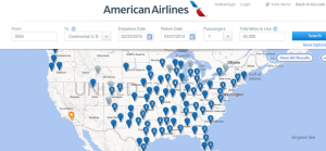 BA Avios Booking Tool: The AA Award Map