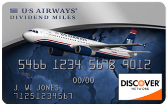 "Please note: this card does not really exist. I get 1-2 people per week googling ""US Airways Discover Card"""