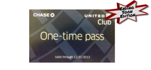 United Lounge Pass Giveaway: Deals Ending Soon Edition