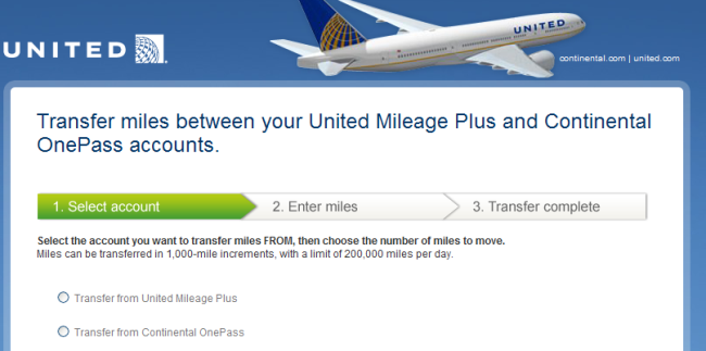 This was the page that allowed back and forth UA CO transfers--I fully expect something similar from the AA/US Merger