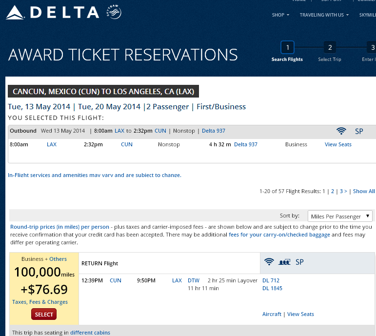 To book low level delta awards without going crazy milenomics com