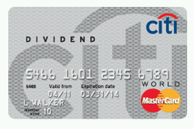 With the Citi® Dividend Platinum Select® Visa® Card - $ Cash Back, you earn 5% cash back in bonus categories that change quarterly and 1% elsewhere – but only up to $ in rewards earned.