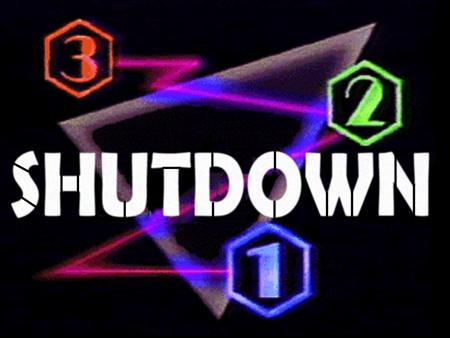 321 Shutdown