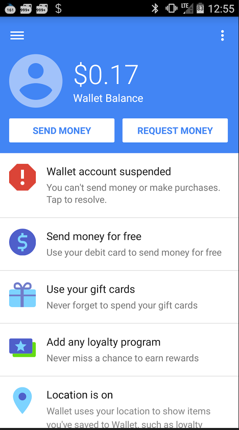 how to create a google wallet account