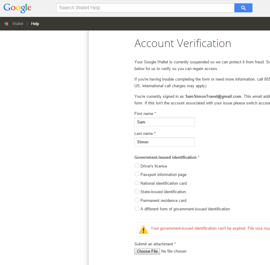 Google Wallet Shutdown