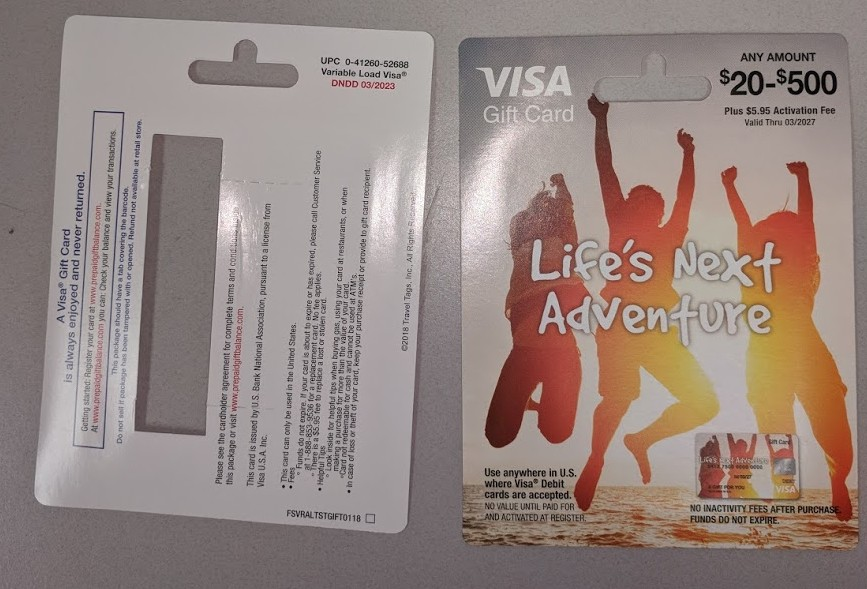 Potential US Bank Gift Card Fraud Spotted in the Wild – milenomics.com