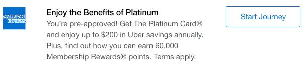 AmEx Personal Platinum 60,000