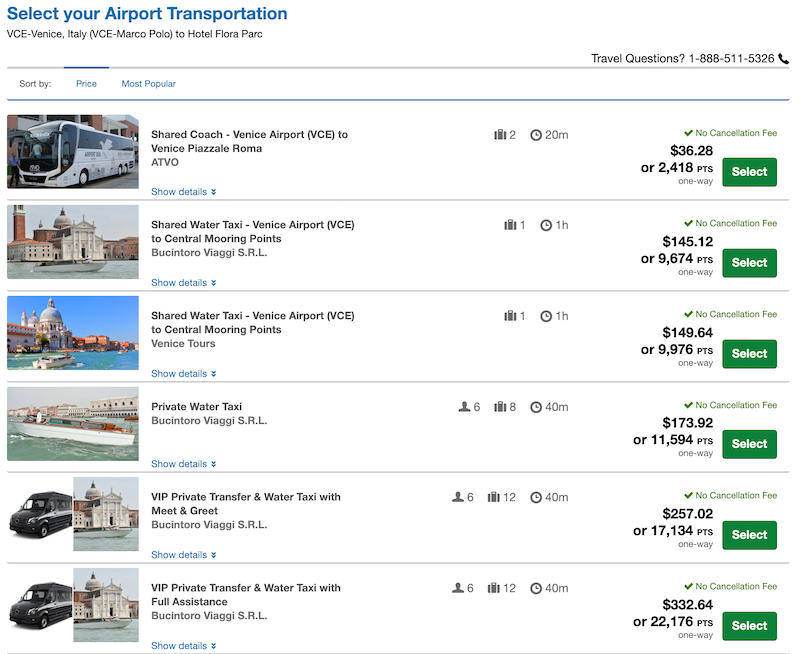chase ultimate rewards airport transfers